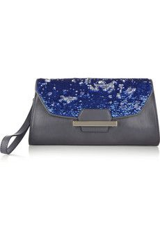 0c83a1d7e411 Bag Snob for DKNY - The Clutch sequined leather bag