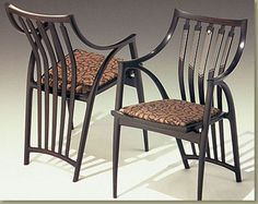 Iconic Michael Fortune chairs