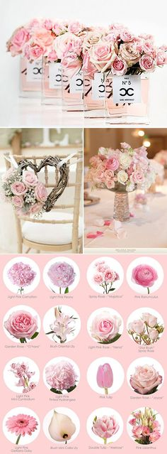 This Pin was discovered by Zar Diy Wedding Flowers, Floral Wedding, Wedding Bouquets, Wedding Centerpieces, Wedding Decorations, Dream Wedding, Wedding Day, Rose Pastel, Flower Names