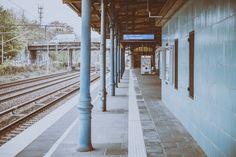 S-Bahnsteig vom Bahnhof Wuhlheide (CC BY-NC-ND)