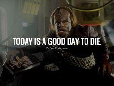 Klingon courage