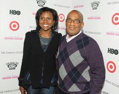 Al Roker and Deborah Roberts  We love them because these two journalists are the perfect match in intellect and wit.