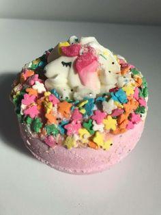 Fizzing Bath Bombs, Unicorn Bath Bombs, Carpet Freshener, Linen Spray, Beautiful Gifts, Wax Melts, Birthday Cake, Desserts, Food