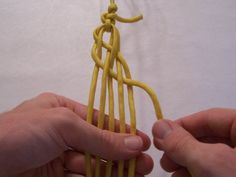T. J. Potter - Instructions for a 6-strand Flat Braid