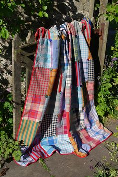 This is called an Anta Tartan Quilt but I would say it was more of a plaid. Either way, it's lovely.