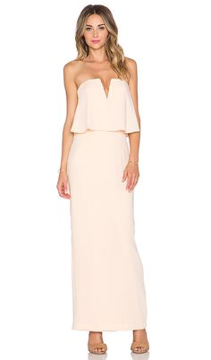 Shop for JARLO Poppy Maxi Dress in Nude at REVOLVE. Free 2-3 day shipping and returns, 30 day price match guarantee.