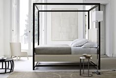 Bedroom featuring the ALCOVA ACLB BED Designed by Antonio Citterio