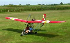 Fly in an Ultralight Aircraft.