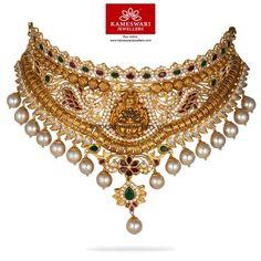Choker Necklace Online, Gold Choker Necklace, Gold Necklaces, Gold Pendant, Pendant Jewelry, Gold Jewelry, India Jewelry, Jewelry Collection, Fashion Jewelry