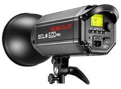 Lampa studyjna CALER ECL-400/600/800 [GN66/80/90 1/32]