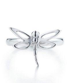 Tiffany  Co Dragonfly Silver Ring