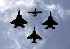 F-22, P-51, F-15, and F-4 fighters that changed everything