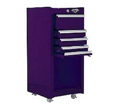 The Original Pink Box PB1804R 16-Inch 4-Drawer 18G Steel Rolling Tool / Salon Cart, Pink, Limited Lifetime Warranty