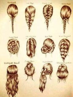 ways to do your hair - Google Search