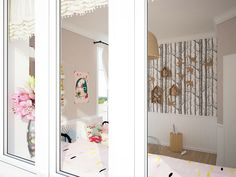 We all know Amazing Home design is really suitable for our Home. You can learn from our article (Girl& Bedroom Design With Soft Color Shades Looks So Charming) and get some ideas for your Home design. Girl Bedroom Designs, Girls Bedroom, Kid Bedrooms, Feminine Bedroom, Loft, Minimalist Room, Cute Home Decor, White Rooms, Baby Room Decor