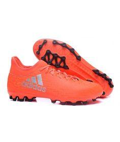 e00a58c5ce0 Adidas X 16.3 AG KUNSTGRÆS mænd fodboldstøvler rød sort. Rouge  NoirChaussureChaussures De FootballChaussures ...