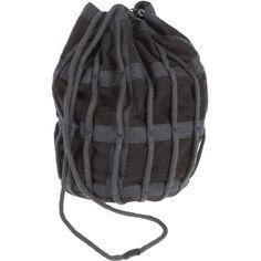 HELMUT LANG Small leather bag (12.105 RUB) ❤ liked on Polyvore featuring bags, handbags, handbag purse, mini hand bags, mini purse, mini handbags and real leather handbags