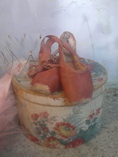 Welcome to my vintage webshop - filled with treasures of a long time past, touched by whiffs of theatre dust, sprinkles of circus magic & fairy-tales of tulle and sparkling gems. Pointe Shoes, Toe Shoes, Ballet Shoes, Vintage Ballet, Swan Lake, Shabby Chic Homes, Roller Skating, Rose Buds, Slippers