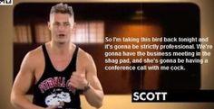 Geordie shore. Geordie shore quote. Scott.