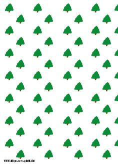 Papel deco árbol de Navidad #christmastree #arboldenavidad