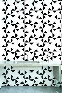 Modern Surface Trend: 30 Geometric Tiles Ideas   DigsDigs