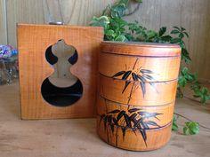 瓢箪と竹の柄4段ミニ重