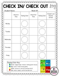 Check In/ Check Out Binder: Positive Behavior Management System Check In/ Check Out Binder: Positive Behavior Management System,Pre K and Kindergarten Related posts:Free Character Traits List - EducationEarly Elementary Counseling: What Are Things I. Positive Behavior Management, Behavior Management System, Classroom Management, Positive Behavior Chart, Elementary School Counseling, School Social Work, School Counselor Organization, School Counselor Lessons, Special Education Organization