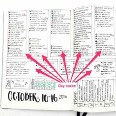 Weekly Spreads: An Actionable Guide to Boost your Journal Monthly Bullet Journal Layout, Daily Bullet Journal, Bullet Journal Tracker, Bullet Journal Printables, Bullet Journal Hacks, Bullet Journal How To Start A, Journal Template, Bullet Journal Spread, Journal Pages