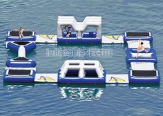 New Fun, Floating Obstacle Course For Sale