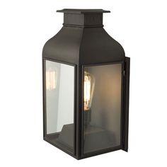 Wall Lantern Weathered Brass by Original BTC / Davey Lighting from Vertigo Home