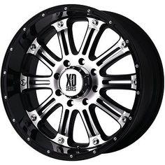 12 best stuff to buy images black wheels jeep wheels off road wheels Dodge Ram 4 X 4 20 inch black silver rims wheels chevy silverado 1500 tahoe suburban xd795 6 lug toyota trucks