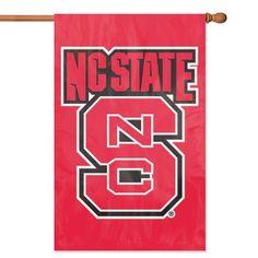 North Carolina State Wolfpack Applique Banner Flag (44x28)