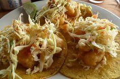 Shrimp Tacos, Bally Hoo,  Isla Mujeres, Mexico