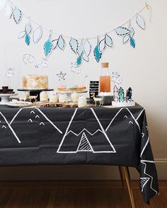 Planning a kids party doesn't have to be daunting. Our Modern Camp Collection offers  coordinating tableware, decor, activity-sets and photo props to help you celebrate stress-free.  Shop them at harlowandgrey.com #HGparty #HGstyle #modern #kids #kidsparty #partyideas #moderncampcollection
