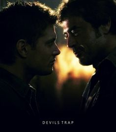 "samfordean:          Devil's Trap | 1.22      ""You know you fight, and you fight for this family, but the truth is, they don't need you, not like you need them. Sam, he's clearly John's favorite. Even when they fight its more concern than he's ever shown you."" -Yellow Eyed Demon as John"