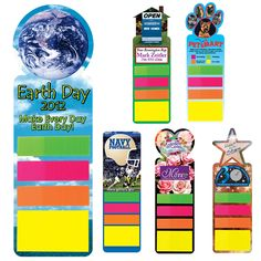 Promotional Full Color Digital Stickynote Bookmark | Customized Full Color Digital Stickynote Bookmark | Promotional Stickynote Bookmarks