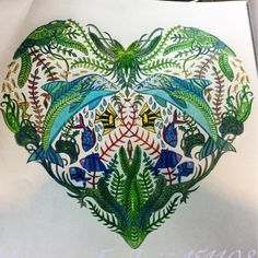 Johanna Basford | Colouring Gallery Ocean Coloring Pages, Colouring Pages, Adult Coloring Pages, Coloring Books, Coloring Tips, Johanna Basford Books, Johanna Basford Coloring Book, Sketch Inspiration, Color Inspiration