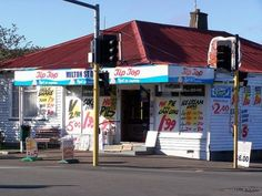 Typical New Zealand Corner Dairy