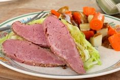 Homemade Corned Beef & Cabbage - Homemade Corned Beef & Cabbage Happy St. Patrick's Day everyone!!  Here is a simple recipe for homemade corned beef and cabbage.  I like making my own instead of the store bought so that I can control the seasoning.