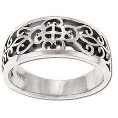 Filigree moorish design ring