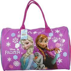Large Disney Frozen Elsa Anna Olaf Blue Shoulder Duffle Bag Messenger Bag-New!  May Lee · Duffel Bags 0faff8849d