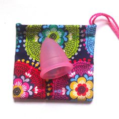 Decorative menstrual cup pouch for your Most Common Phobias, Menstrual Cup, Cloth Pads, Take My Money, Sunglasses Case, Diva, Pouch, Purses, Trending Outfits
