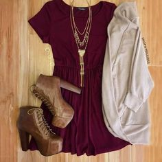 Fall trendy look