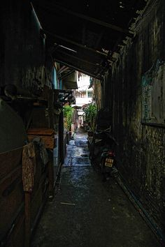 Back alley, street of bangkok