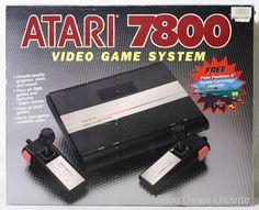 Atari 7800 Pro System box front view