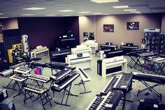 www.azemamusique.fr #clavier #piano #pianonumerique #roland #yamaha #korg #nord #arturia