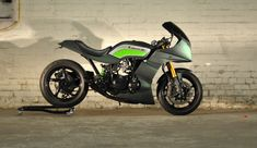 GPZ 750 Restomod Spearmint - RocketGarage - Cafe Racer Magazine