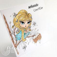 Hilda Designs: Tarjeta Reto Enero 2016 en SCC
