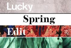 Everything You Need to Look Amazing This Spring #SelfMagazine #LuckyMag
