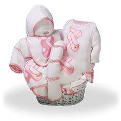 Baby Ballerina Gift Basket by The Gift Basket Pros and more gifts at discounted prices. Baby Girl Gift Baskets, Baby Shower Gift Basket, Baby Shower Gifts, Basket Gift, Ballerina Baby Showers, Baby Ballerina, Ballerina Party, Newborn Baby Gifts, Baby Girl Gifts